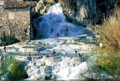Cascate del Mulino, Saturnia, Grosseto - daTerme libere e gratuite in Italia. - Foto - Virgilio Viaggi