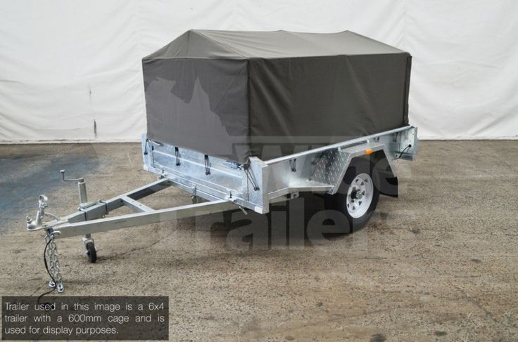 This Canvas Cover 7x4 600mm is designed to fit our range of trailers. Contact the team to see if it would be suitable for your car trailer.