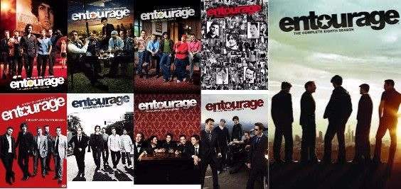 Entourage The Complete Series Seasons 1-8 Set on DVD