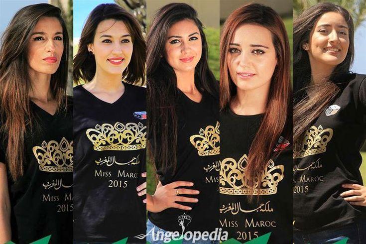 Miss Maroc 2015 Top 5 Hot Picks