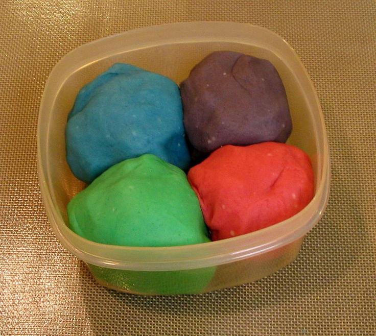 How to Make Playdough (Play-doh) great recipe!!