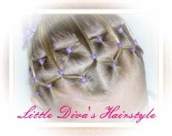 """""""Haarband van Staartjes"""" van Little Diva's Hairstyle"""