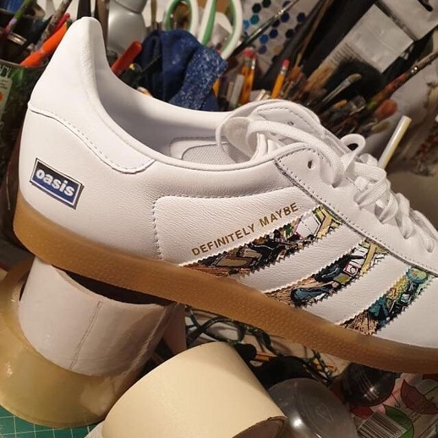 adidas oasis definitely maybe trainers