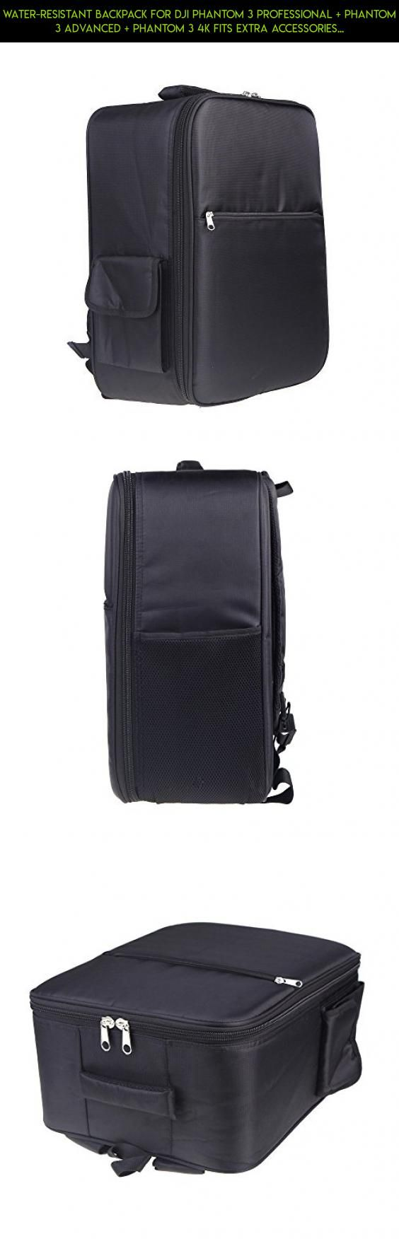 Water-Resistant Backpack for DJI Phantom 3 Professional + Phantom 3 Advanced + Phantom 3 4K Fits Extra Accessories and Laptop #shopping #products #kit #fpv #3 #plans #backpack #camera #parts #racing #dji #drone #gadgets #advanced #tech #phantom #technology