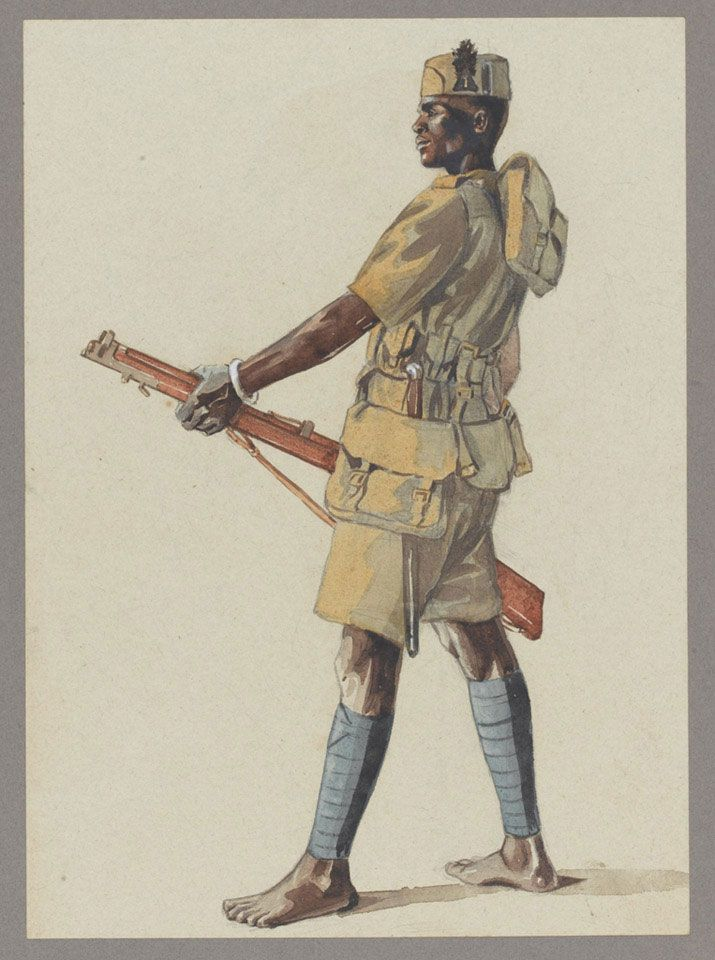 British; King's African Rifles,1st (Central Africa ...