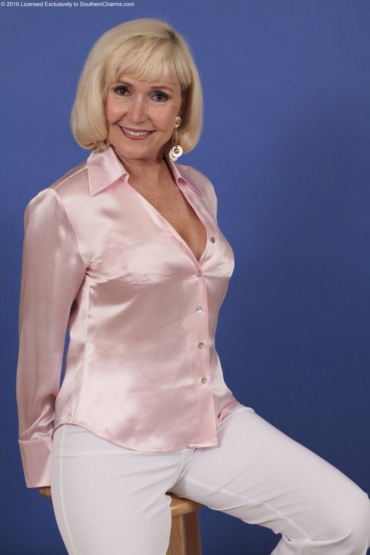 Image Result For Old Lady In Satin Blouses Satin Blouses Blouse