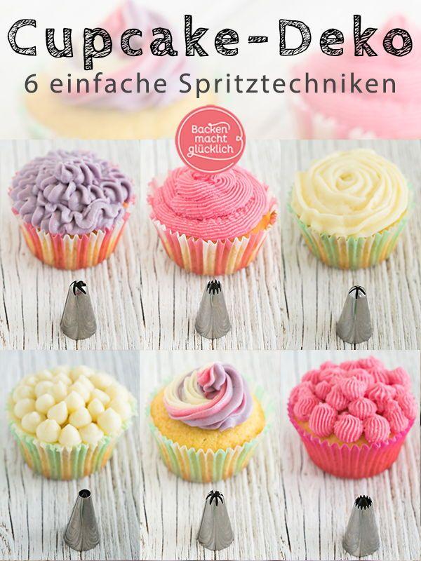 Cupcakes Dekorieren Spritztechniken Spritztullen