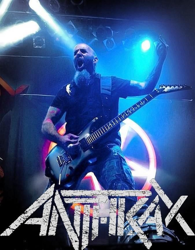 Anthrax - Scott Ian.