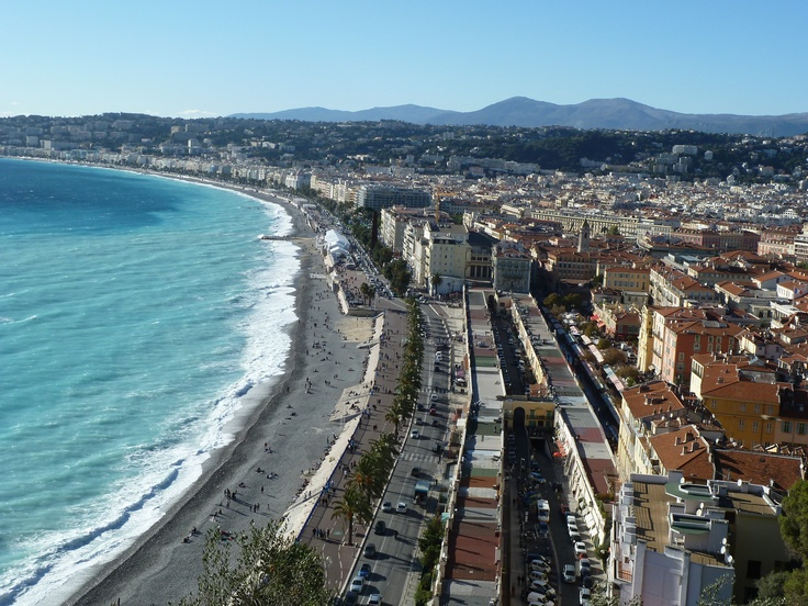 Nice, France from Le Chateau