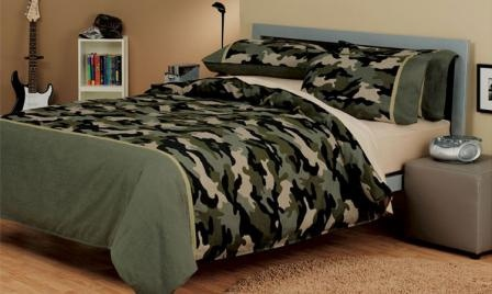 bed linen quilt doona cover sets camouflage army teen single double queen king super size cotton bedding logan mason australia au perth wa sa tas vic nsw sydney by The House Queen Home Decor Australia, via Flickr
