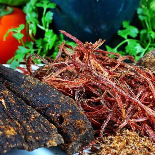 Thịt trâu gác bếp - evi mart