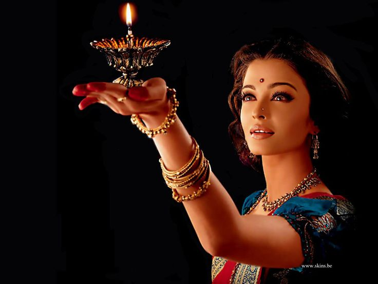 """Aishwarya Rai (She's kind of completely gorgeous. And in one of my favorite movies, """"The Pink Panther 2."""")"""