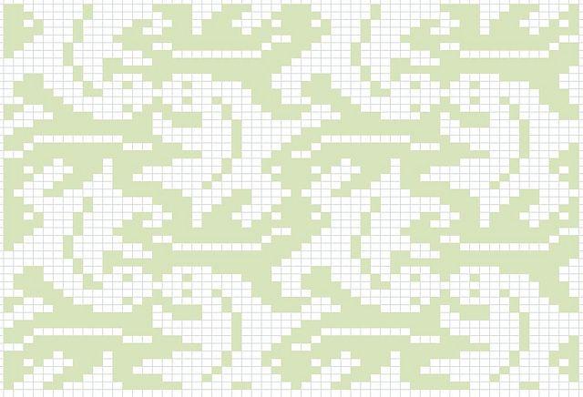 Ravelry: Escher Lizards pattern by Reena Meijer Drees
