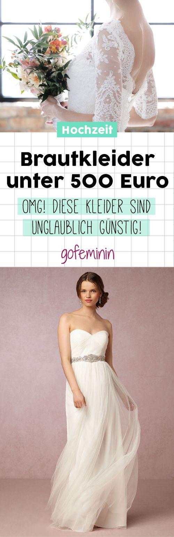 Brautkleider unter 500 Euro: DAS sind die schönsten Roben!