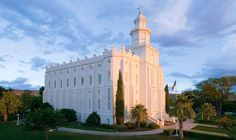 St. George Utah LDS temple schedule.