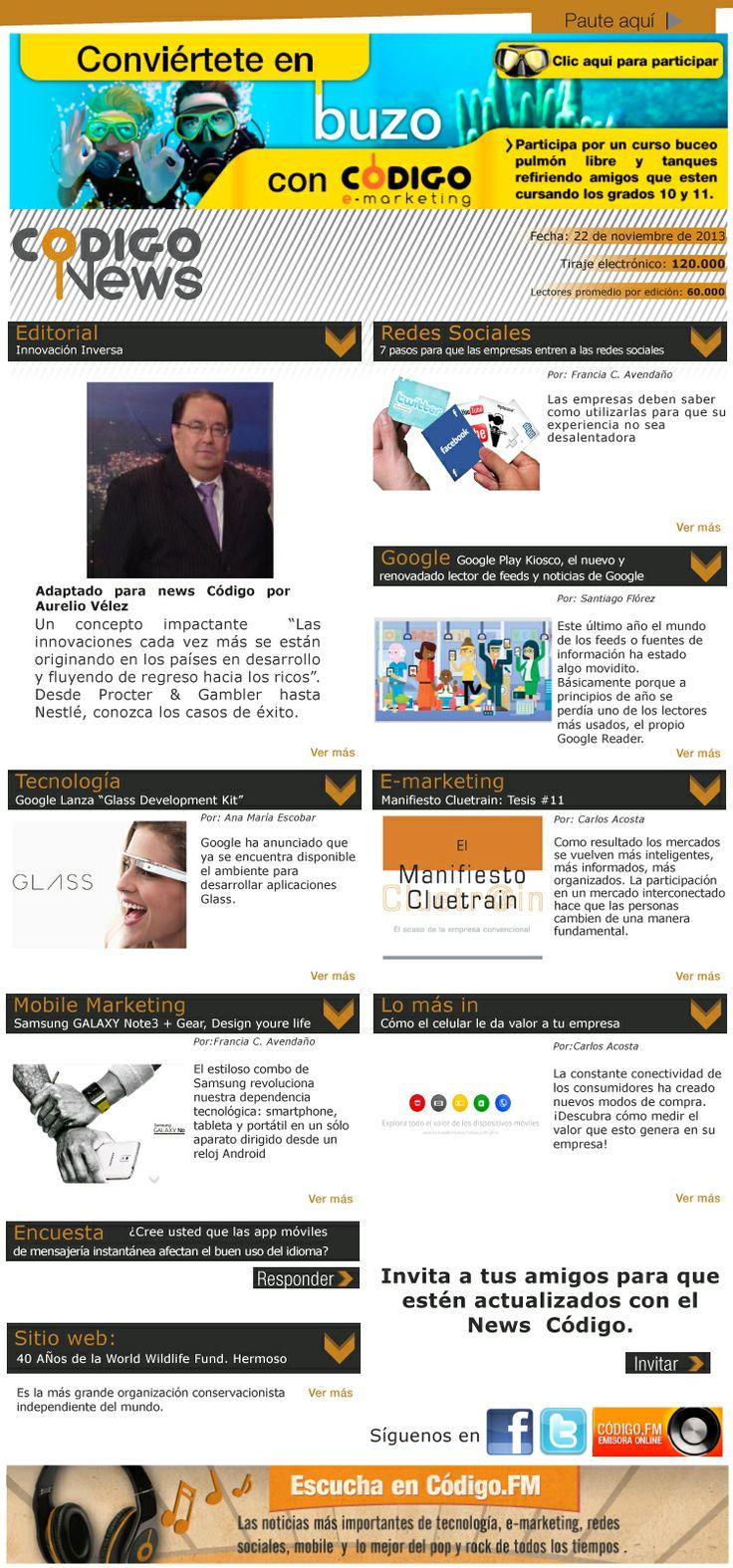 Lo último en e-mailing, redes, mobile marketing y tecnología en nuestro News #77.