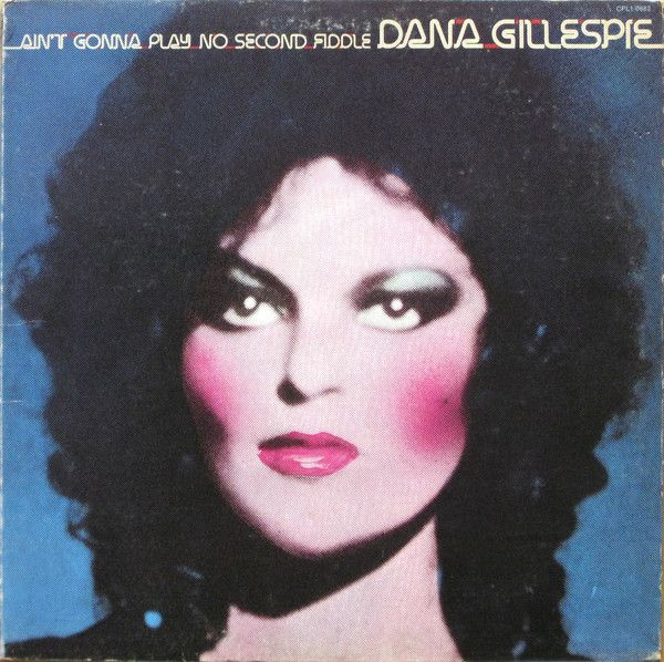 Dana Gillespie, 1974.