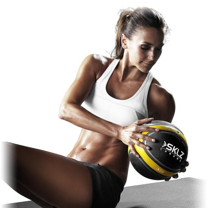Blast your body, chisel out an iron-clad set of abs, and sweat up a tsunami with these 6 power medicine ball exercises.