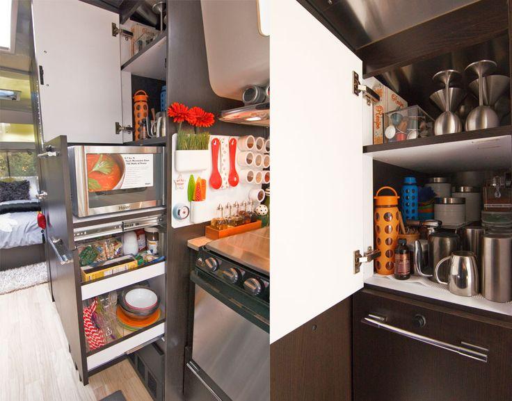 Airstream Kitchen Organization- Awesomeness!!