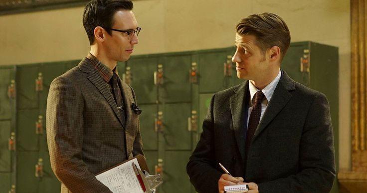 The Riddler Emerges in New 'Gotham' Season 2 Photos -- Cory Michael Smith's Edward Nygma starts down the long path that leads to him becoming The Riddler in next week's 'Gotham'. -- http://movieweb.com/gotham-season-2-photos-riddler-edward-nygma/