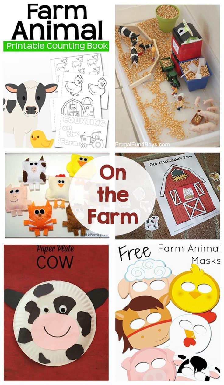 On the Farm Activities - DIY crafts, activities, printables and games that your kids are going to love!