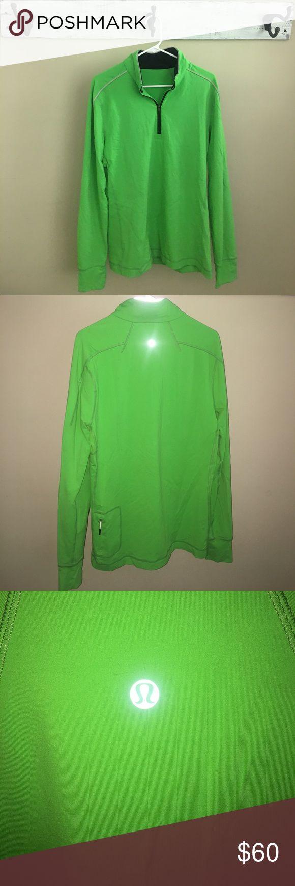 men's lululemon pullover • Men's lululemon pullover • lime green • new condition • size large • lululemon athletica Jackets & Coats Lightweight & Shirt Jackets