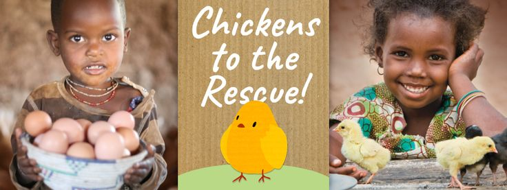 Chickens to the Rescue!  http://www.worldvision.ie/gifts/easter