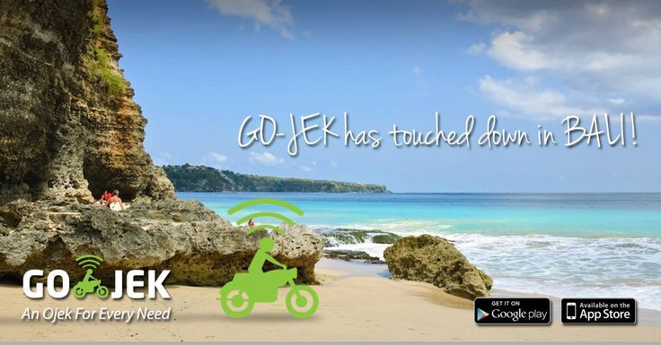 GO-JEK is now available in the Island of the Gods! Try us out by downloading the app www.go-jek.com/app