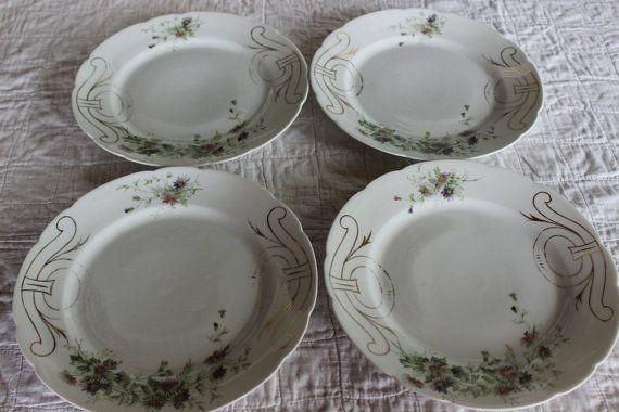 Vintage Dinner Plates Altrohla Altrohlau by AmeliesFarmhouse, $20.00