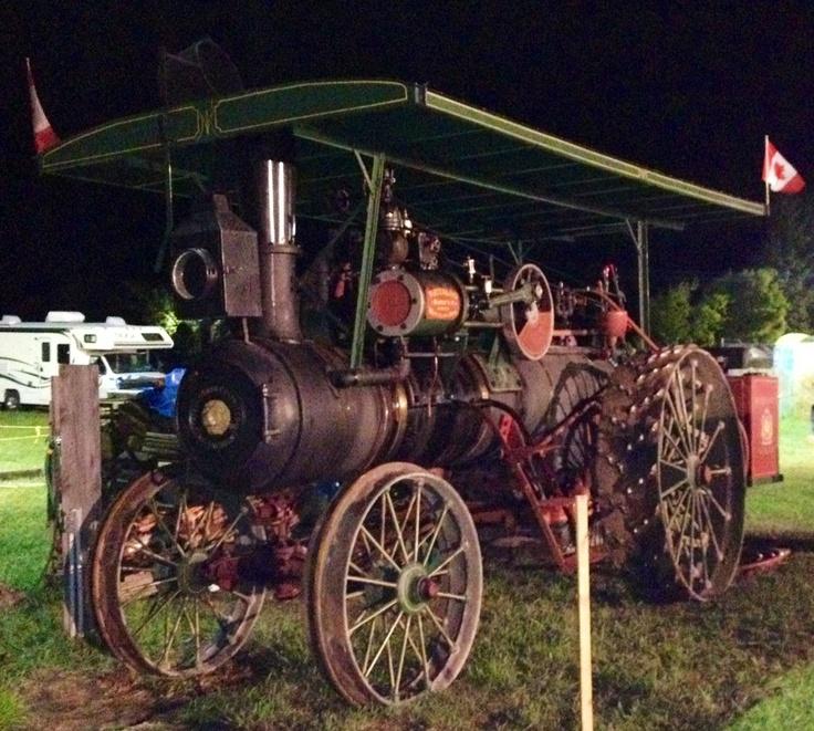 1800's steam tractor. Built in Waterloo Ontario.
