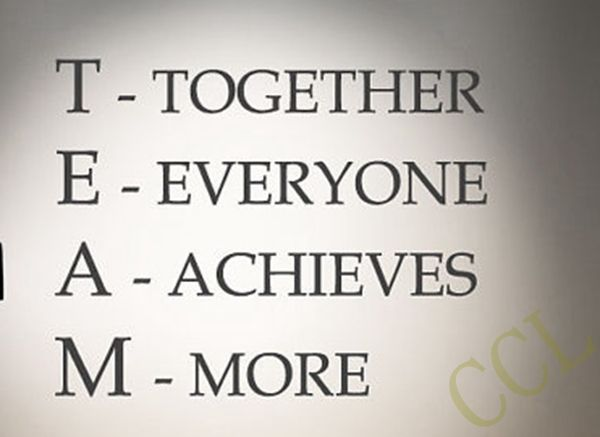 Team Motivational Quote Office Wall Sticker , Together Everyone Achieves More Inspirational vinyl decal Office wall art decor-in Wall Stickers from Home & Garden on Aliexpress.com | Alibaba Group