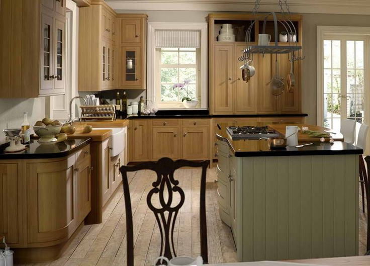 Nice clean neutral look with using white cabinets for 50s style kitchen cabinets