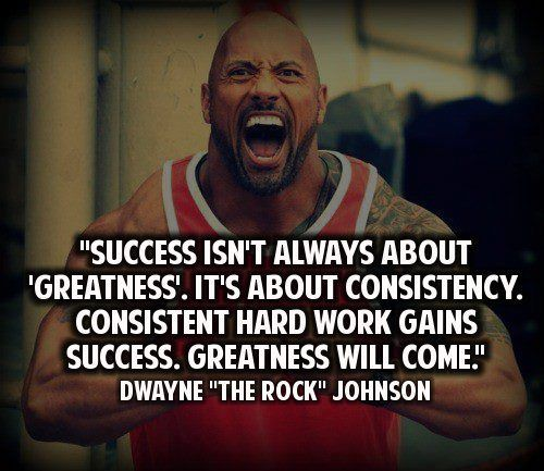 Success isn't always about 'greatness'. It's about ...