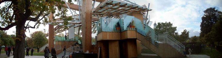 Manifesto Marathon cierra Serpentine Gallery 2008 por Frank Gehry