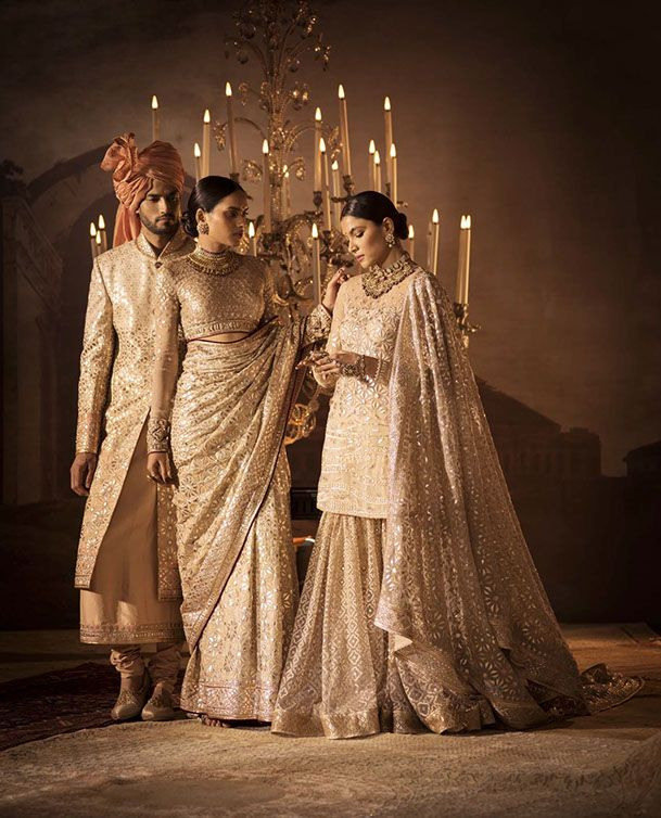 Tarun tahiliani bridal collection 2017 2 1000 designs of for Aaina beauty salon
