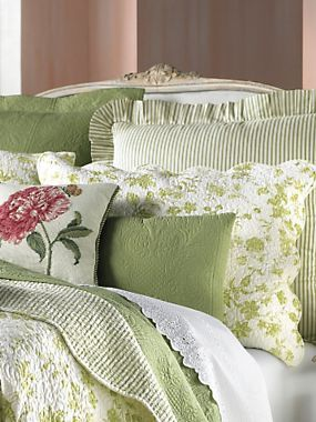 Brighton Toile Coverlet, Shams & Pillows by Williamsburg®