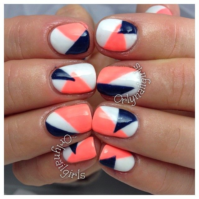 cute - but with different colours for spring/summer | orlynailgirls