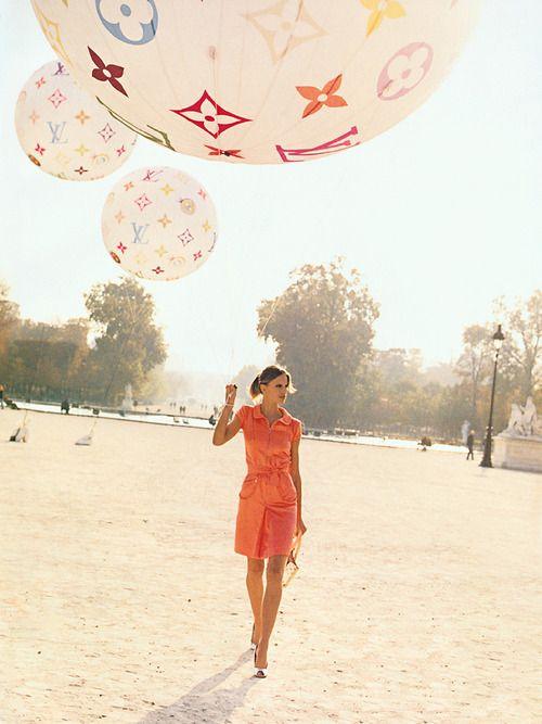 LV<3Louisvuitton, Birthday, Fashion, Vogue Paris, Colors, Peter Lindbergh, Pink Lemonade, Louis Vuitton Bags, Lv Balloons