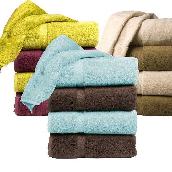 Serviettes de bain collection Royal Plush #CILserenity