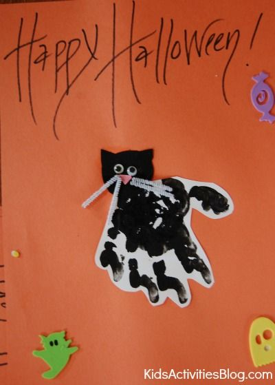 {Not So Scary} Halloween Crafts for Kids