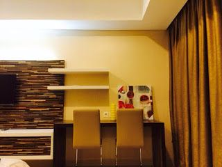 Kemang Village Apartment For Rent  Sewa Apartemen Jakarta Selatan  Apartment Name : Kemang Village  Location : Jl. Pangeran Antasari No.36 Jakarta - 12150 Tower/Floor/View : The Intercon /23Fl, city view ( NEW ) Size : 38 m2  Studio Room ( NEW) Bath room 1  Condition : Fully Furnished (1 king size beds, 1 TV, ACs unit, sofa seats, dining table, equipped kitchens with stove, refrigerator, water dispenser, dinner ware, washing and dryer machine) Contact Number : +628121021 007 - Rini