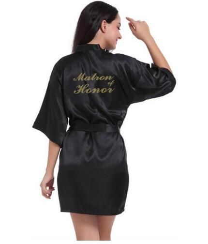 010ea49207 Matron of Honor bridesmaid robes personalized matching robes mother of the  bride gift robe