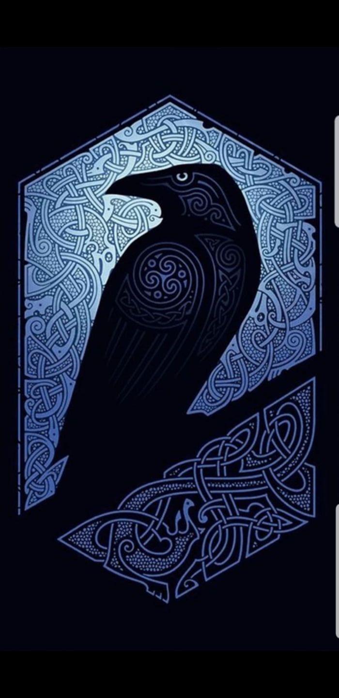 Viking Crow Wallpaper Viking Art Viking Wallpaper Celtic Art 125 nordic (viking) tattoos you will love (with meanings. viking crow wallpaper viking art