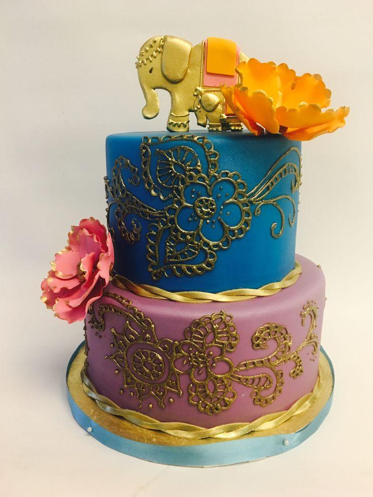 Henna Wedding Cake 12 best Adult Birthday