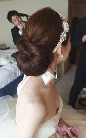 大人可愛い3スタイルチェンジ♡素敵なご結婚式|大人可愛いブライダルヘアメイク『tiamo』の結婚カタログ