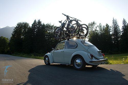 VW Beetle shoot for Thule Racks by formulaphoto, via Flickr