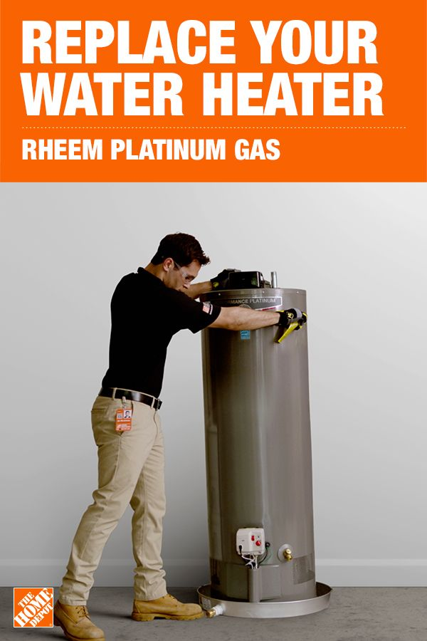 Get Professional Installation On A Rheem Water Heater From The Home Depot Water Heater Natural Gas Water Heater Water Heater Jacket