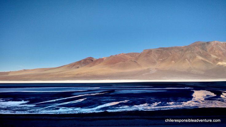 Tara Saltflat, Atacama Desert highlands on the way to Jama pass (Chile-Argentina border)