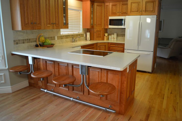 Kitchen Island With Snack Bar