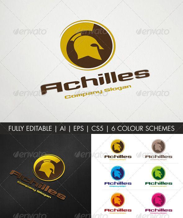 Achilles logo template
